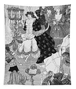 The Battle Of The Beaux And The Belles Tapestry
