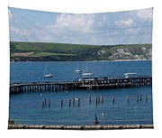 The Bay At Swanage Tapestry