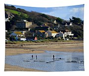 The Beach At Marazion Tapestry