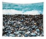 The Beach Of Rocks Tapestry