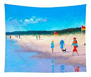 The Beach Walkers Tapestry