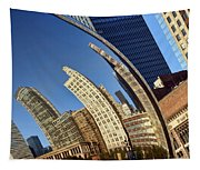 The Bean - 1 - Cloud Gate - Chicago Tapestry
