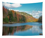 The Beautiful Bald Mountain Pond Tapestry