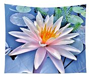 The Beautiful Lily Pond Tapestry