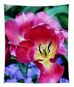The Beauty Of Flowers Tapestry