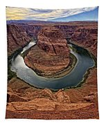 The Bend In The River Tapestry