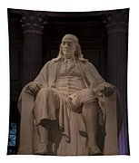 The Benjamin Franklin Statue Tapestry