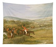 The Berkeley Hunt, Full Cry, 1842 Tapestry