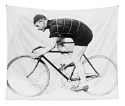 The Bicyclist - 1914 Tapestry