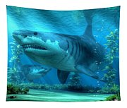 The Biggest Shark Tapestry