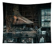 The Blacksmith's Forge - Industrial Tapestry