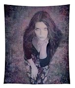 The Blown Kiss Tapestry