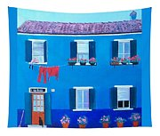 The Blue House Burano Tapestry