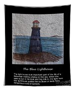 The Blue Lighthouse Tapestry
