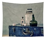 The Blue Suitcase Tapestry