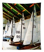The Boat Shed Tapestry