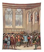 The Bourgogne Herald, Sent By Charles Tapestry