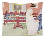 The Bridesmaid, Pub. In Lasst Licht Tapestry