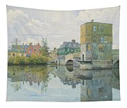 The Bridge At Saint Ives Tapestry