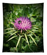 The Bug And The Thistle Tapestry