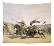 The Bull Following Up The Charge, 1865 Tapestry