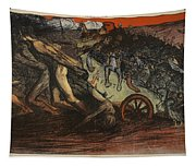 The Burden Of Taxation, Illustration Tapestry