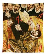 The Burial Of Count Orgaz Tapestry