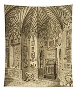 The Cabinet, Engraved By T. Morris Tapestry