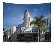 The Century Theatre In Ventura Tapestry