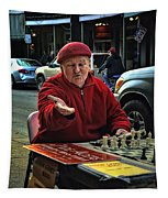 The Chess King Jude Acers Of The French Quarter Tapestry