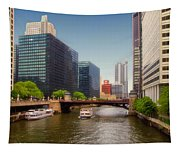 The Chicago River South Branch Tapestry