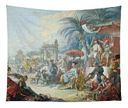 The Chinese Fair, C.1742 Oil On Canvas Tapestry