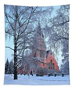 The Church Of Kemi Tapestry