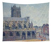 The Church Of St Jacques In Dieppe Tapestry