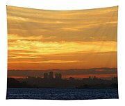 The City From Across The Bay Tapestry