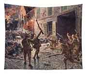 The Coldstream Guards At Landrecies Tapestry