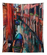 The Colors Of Venice Tapestry