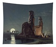 The Colossi Of Memnon, Thebes, One Tapestry