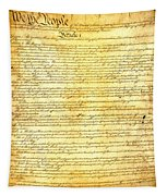The Constitution Of The United States Of America Tapestry