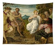 The Contest Between Apollo And Marsyas Tapestry