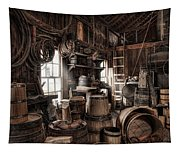 The Coopers Shop - 19th Century Workshop Tapestry