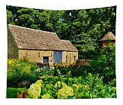 The Cotswald Barn And Dovecove Tapestry