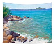 The Cottage View Tapestry