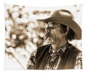 The Cowboy Angler Tapestry