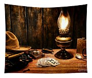 The Cowboy Nightstand Tapestry
