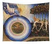 The Creation Of The World And The Expulsion From Paradise Tapestry