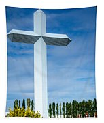 The Cross At Effingham Illinois Tapestry
