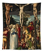 The Crucifixion Of Christ Tapestry