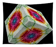 The Cube 10 Tapestry