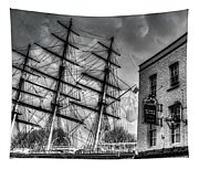 The Cutty Sark And Gipsy Moth Pub Greenwich Tapestry